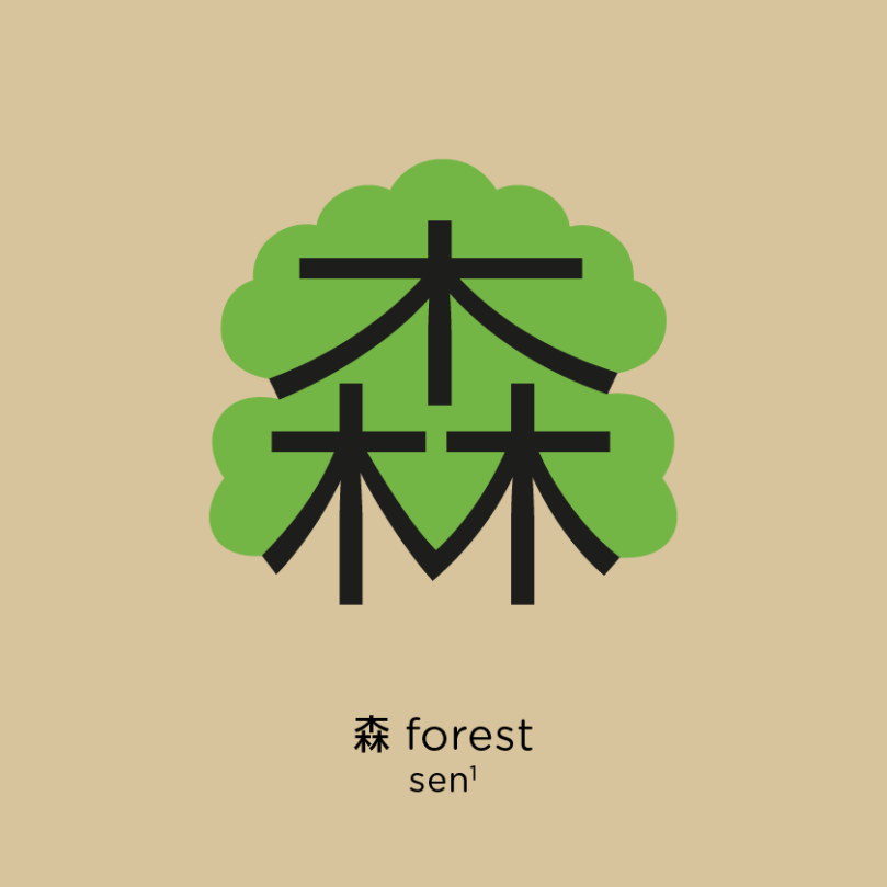 Chineasy_FB_Compounds_PINYIN_Forest